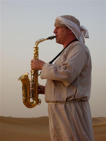 Geschichtenerzähler in der Wüste